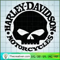 Harley-Davidson Logo SVG, Motorcyles SVG, Skull Logo SVG
