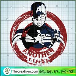 Another War SVG, Captain America SVG, Avengers SVG
