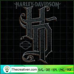 Harley-Davidson Monograms Logo SVG, Harley-Davidson SVG, Motorcyles SVG
