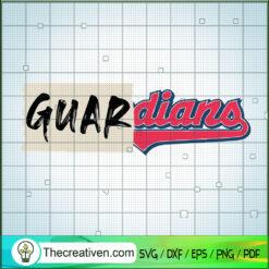 Indian Baseball Team Guardian Logo SVG, Baseball Team SVG, Indian Sport Team SVG, Guardian Logo SVG