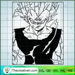 Super Saiyan Goku SVG, Dragon Ball Z SVG, Songoku SVG