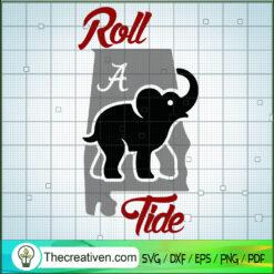 Roll a Tide SVG, Elephants SVG, Animals SVG