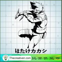 Kakashi Hatake SVG, Naruto SVG, Naruto Anime SVG