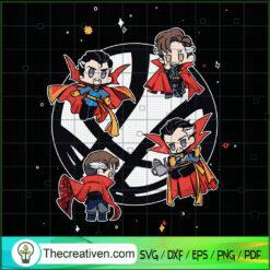 Doctor Strange SVG, Doctor Strange Chibi SVG, Avengers SVG, Marvel SVG