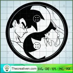 Songoku In Dragon Ball SVG, Goku SVG, Dragon Ball Z SVG