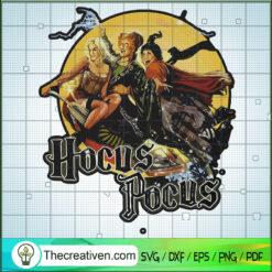 Hocus Pocus Inspired SVG, Sanderson Sister SVG, Halloween SVG