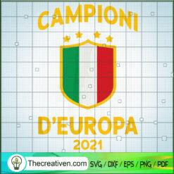 Italy Football Champions of Europe 2021 SVG, Campioni D'europa 2021 SVG, Italia SVG