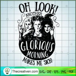 Hocus Pocus Oh Look SVG, Sanderson Sister SVG, Halloween SVG