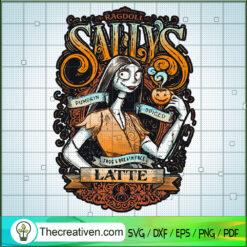 Sally Sally Pumpkin Spiced Latte SVG, Sally SVG, Halloween SVG