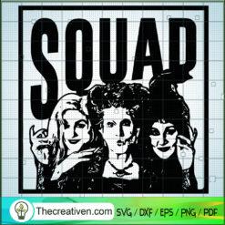 Hocus Pocus Squad SVG, Hocus Pocus SVG, Halloween SVG