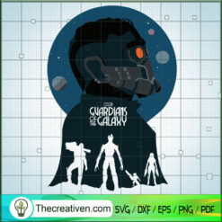 Guardians Of The Galaxy SVG, Groot SVG, Rocket SVG, Star Lord SVG