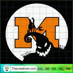 Jack And Sadly Michigan Halloween SVG, Oogie Boogie SVG, Halloween SVG