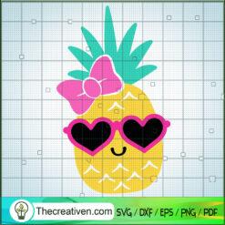 Cute Pinapple SVG, Pinapple SVG, Fruits SVG