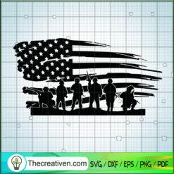 US Military Navy SVG, USA Flag SVG, Army SVG