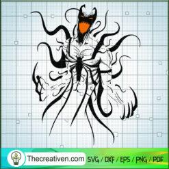 Scary Venom SVG, Venom SVG, Marvel SVG