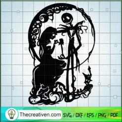 Nightmare Before Halloween SVG, Jack And Sally SVG, Couple Halloween SVG