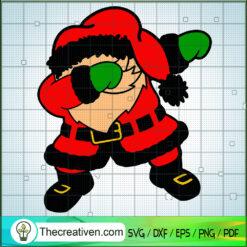Santa Dabbing SVG, Santa Claus SVG, Merry Christmas SVG