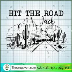 Hit The Road Jack SVG, On The Way SVG, Safari SVG