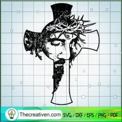Jesus Cross SVG, Jesus Christ SVG, God SVG