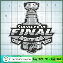 Stanley Cup Champions 2021 SVG, Stanley Cup SVG, National Hockey League SVG