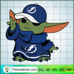 Tampa Bay Buccaneers Baby Yoda SVG, Baby Yoda SVG, NFL Team SVG