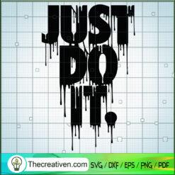 Just Do It SVG, Slogan SVG, Nike SVG