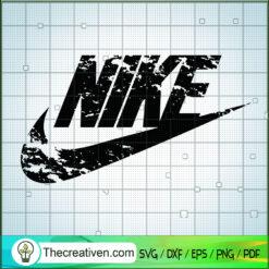 Nike Vintage Logo SVG, Nike Brand SVG, Global Brand SVG