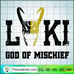 Loki God Of Mischief SVG, Loki God SVG, Avengers SVG