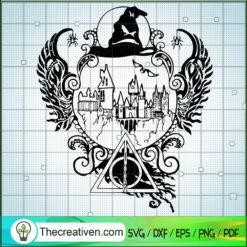 Hogwarts Academy SVG, Harry Potter SVG, Hogwarts SVG