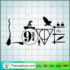 Love Harry Potter Accessory SVG, Harry Potter SVG, Movie SVG