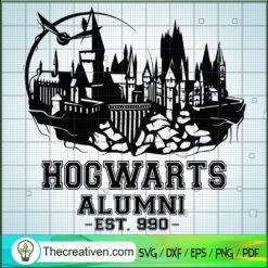 Hogwarts Alumni SVG, Hogwarts SVG, Harry Potter SVG