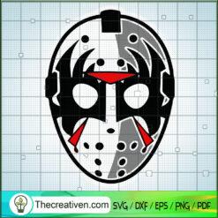Jason Voorhees Mask SVG, Horror Movie SVG, Halloween SVG