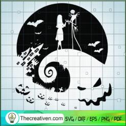 Jack Skellington Meet Sally SVG, Oogie Boogie SVG, The Nightmare Before SVG, Halloween SVG