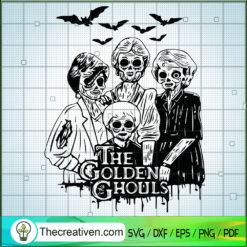 The Golden Ghouls SVG, Horror The Golden Girl SVG, Halloween SVG