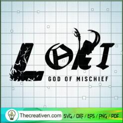 Loki God Of Mischief SVG, Marvel SVG, Avengers SVG