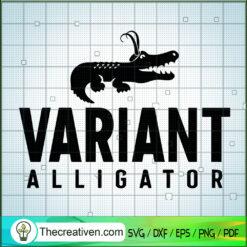 Variant Alligator SVG, Loki Crocodie SVG, Avengers SVG