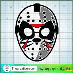 Jason Rock SVG, Jason Voorhees Mask SVG, Horror Movie SVG