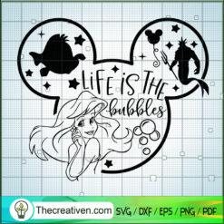 Life is The Huggles SVG, Princess Disney SVG, Disney Mickey SVG