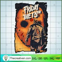 Jason Voorhees Friday The 13th SVG, Jason Voorhees SVG, Halloween SVG