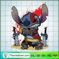 Horror Stitch SVG, Stitch Executioner SVG, Halloween SVG
