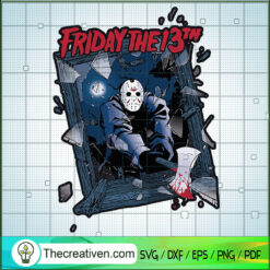 Jason Voorhees SVG, Horror Characters SVG, Friday The 13th SVG