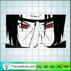 Uchiha Itachi SVG, Itachi Eyes SVG, Naruto SVG