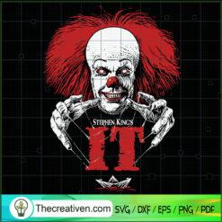 Stephen King's IT SVG, Pennywise SVG, Halloween SVG