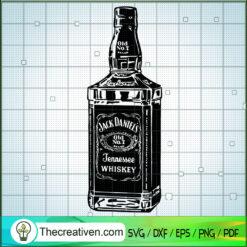 Jack Daniels SVG, Jennessee Whiskey SVG, Whiskey SVG