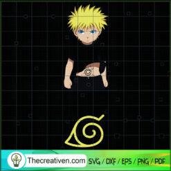 Naruto SVG, Supernatural Power SVG, Anime Cartoon SVG