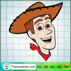 Woody Toy Story SVG, Toy Story SVG, Disney Cartoon SVG