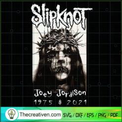 Slipknot Joey Jordison 1875 $ 2021, Musician SVG, RIP Joey Jordison SVG