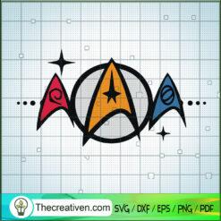 Star Trek Starfleet SVG, Star Wars SVG, Movie SVG