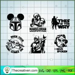 Star Wars Bundle SVG, Star Wars Characters SVG, Star Wars SVG