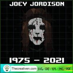 Joey Jordison 1975-2021 SVG, R.I.P Joey SVG, Rest In Peace SVG